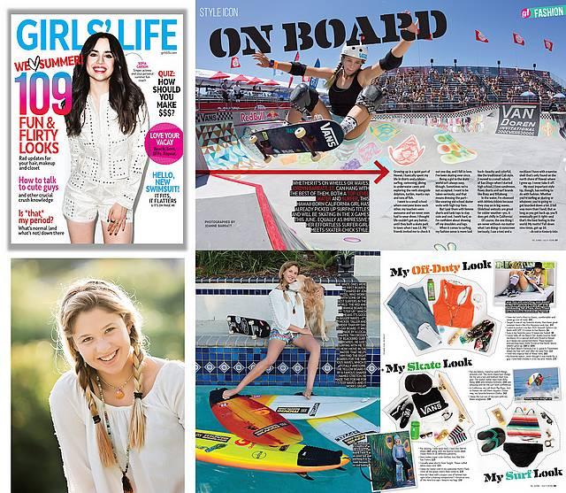 Girls Life Magazine - May 2016