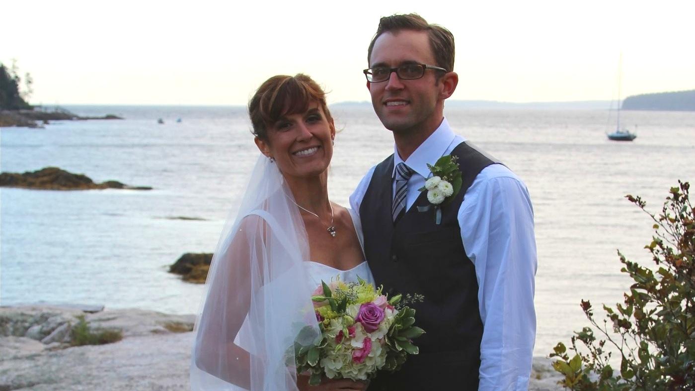 Weddings by the Ocean in Maine
