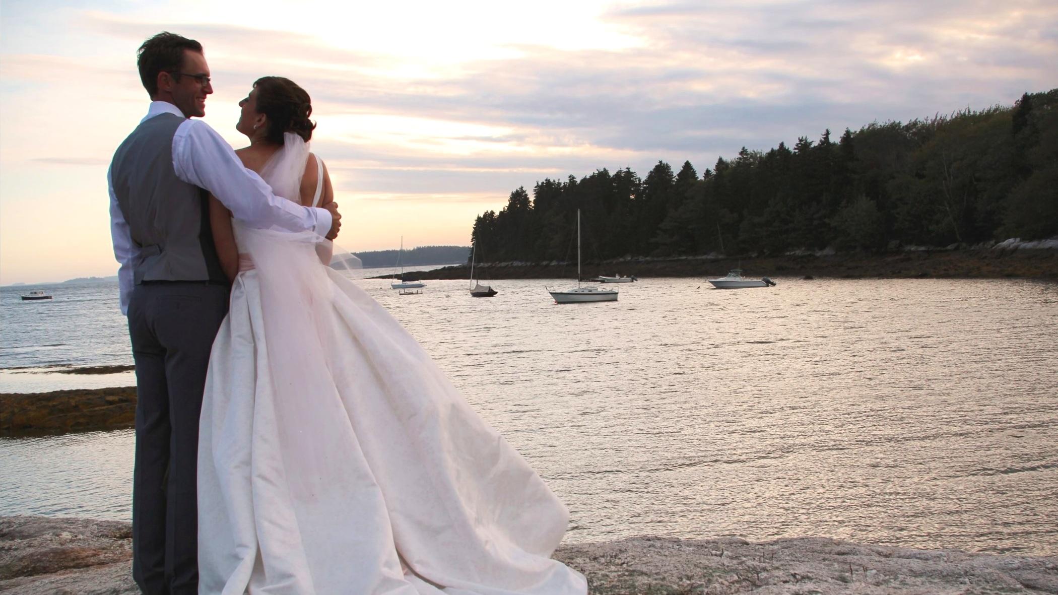 Seaside nuptials