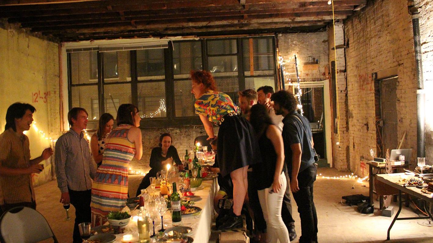 Disurpt Design secret dinner party