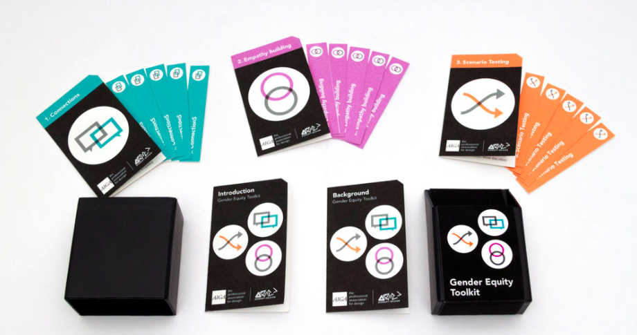 The Gender Equity Toolkit, Developed by  Leyla Acaroglu  in collaboration with  AIGA  with card design by  Deb Adler Design