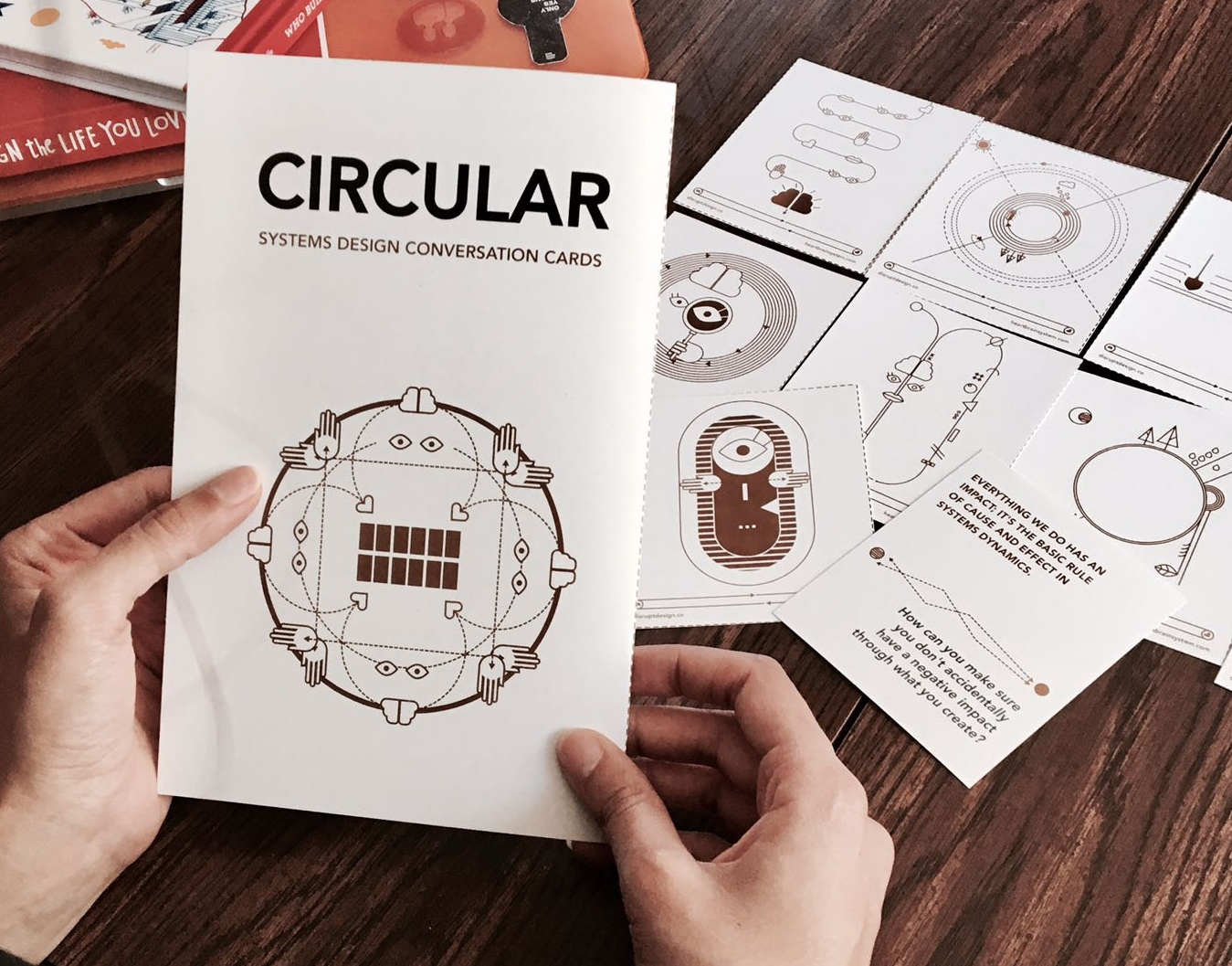 Circular Systems Design Conversation Cards in use 2.jpeg