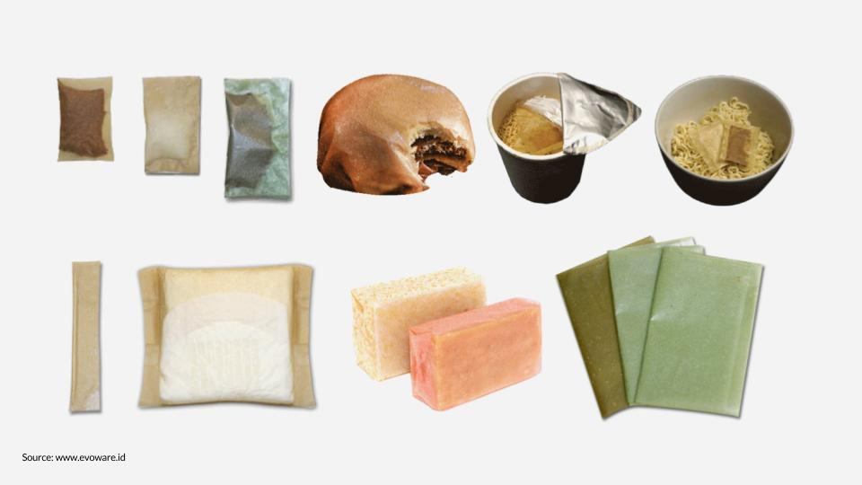 Evoware: EAT THE plastic wrapper - This new food packaging is made from seaweed instead of plastic. The wrapper is nutritious if it's eaten, and if it ends up as litter, it naturally biodegrades.