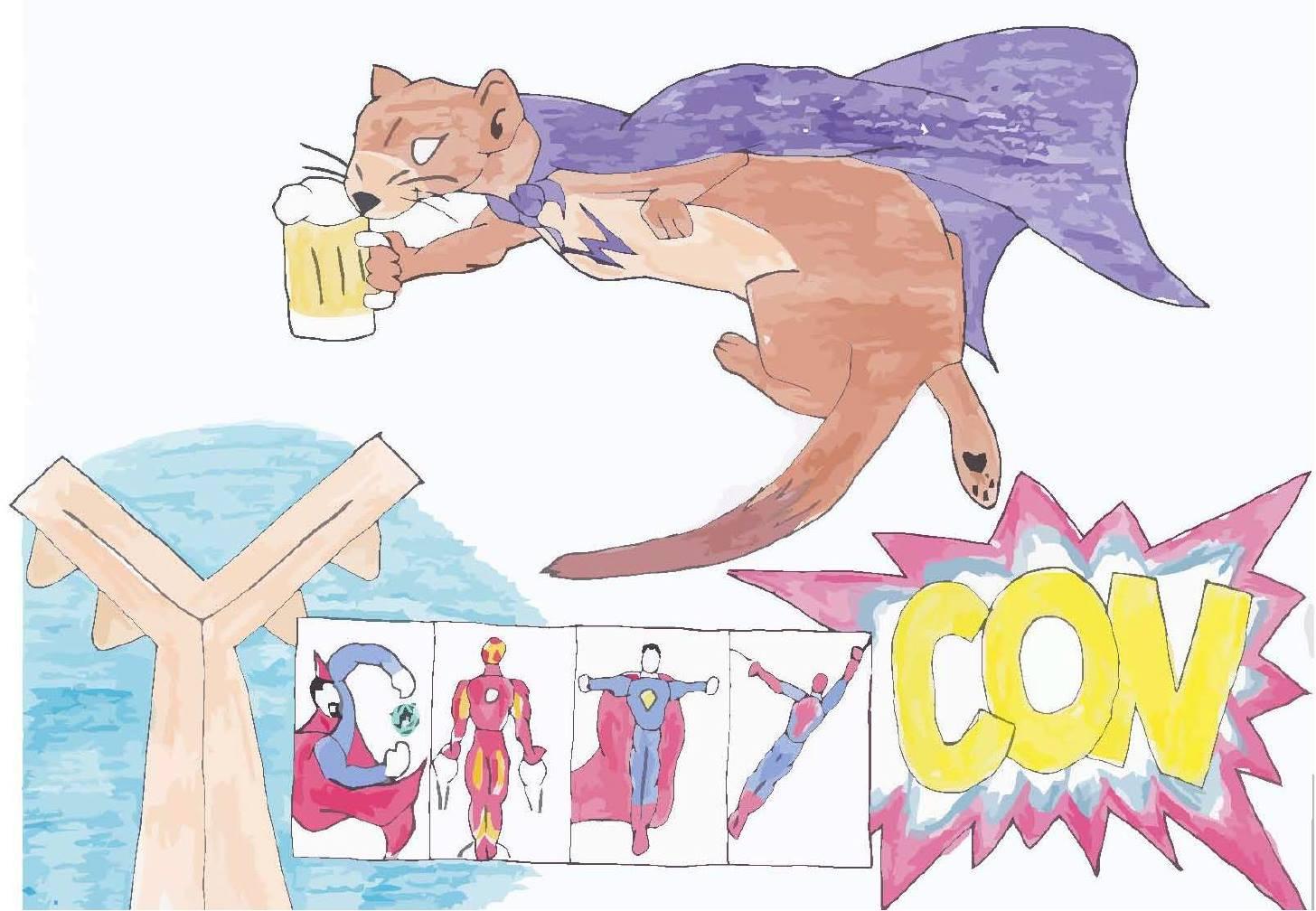 y-city-con at weasel boy brewing