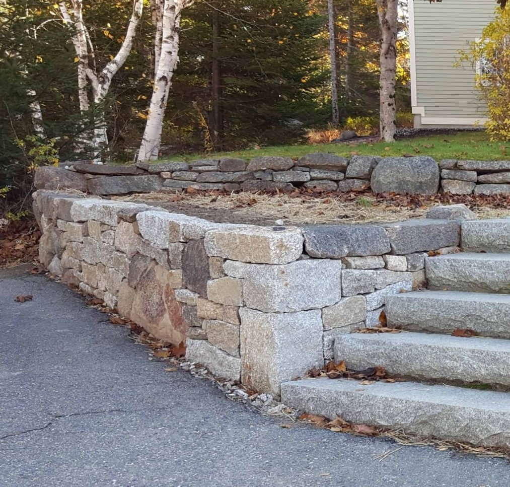 Granite Stonewall Construction
