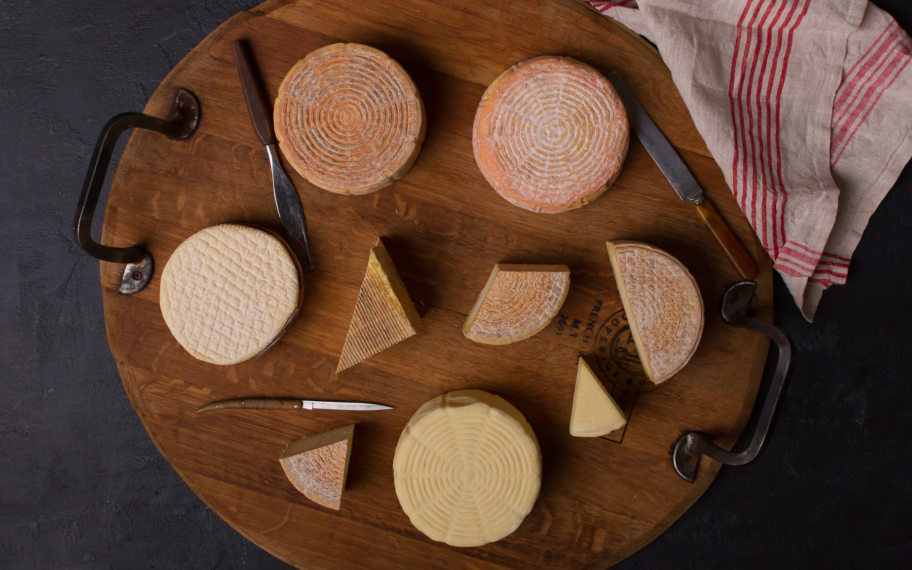 Briar Rose Creamery's Cow's Milk Cheeses