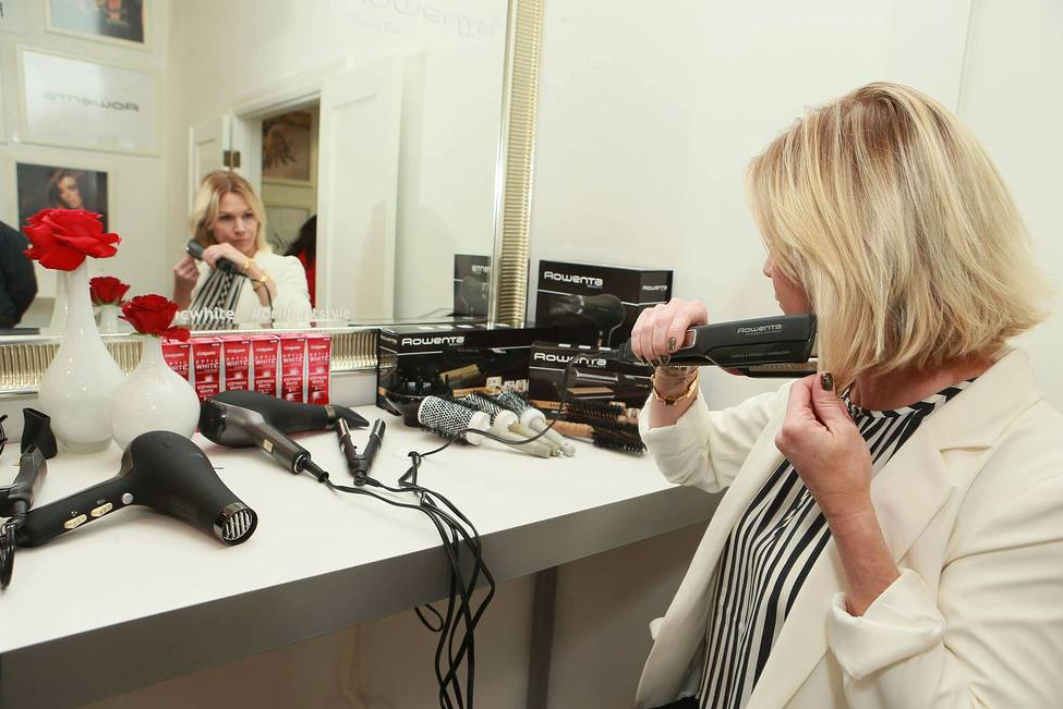 Jennie Garth, Christina Milian, Adrienne Bailon & More Attend Colgate Optic White Beauty Bar At The Selma House In LA.