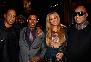 """The Grammy festivities continued last night with the """"Stevie Wonder: Songs In The Key Of Life"""" All Star Grammy Salute at the Nokia Theatre in DTLA."""