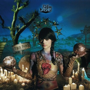 Bat For Lashes Two Suns Recording by Matt Boynton