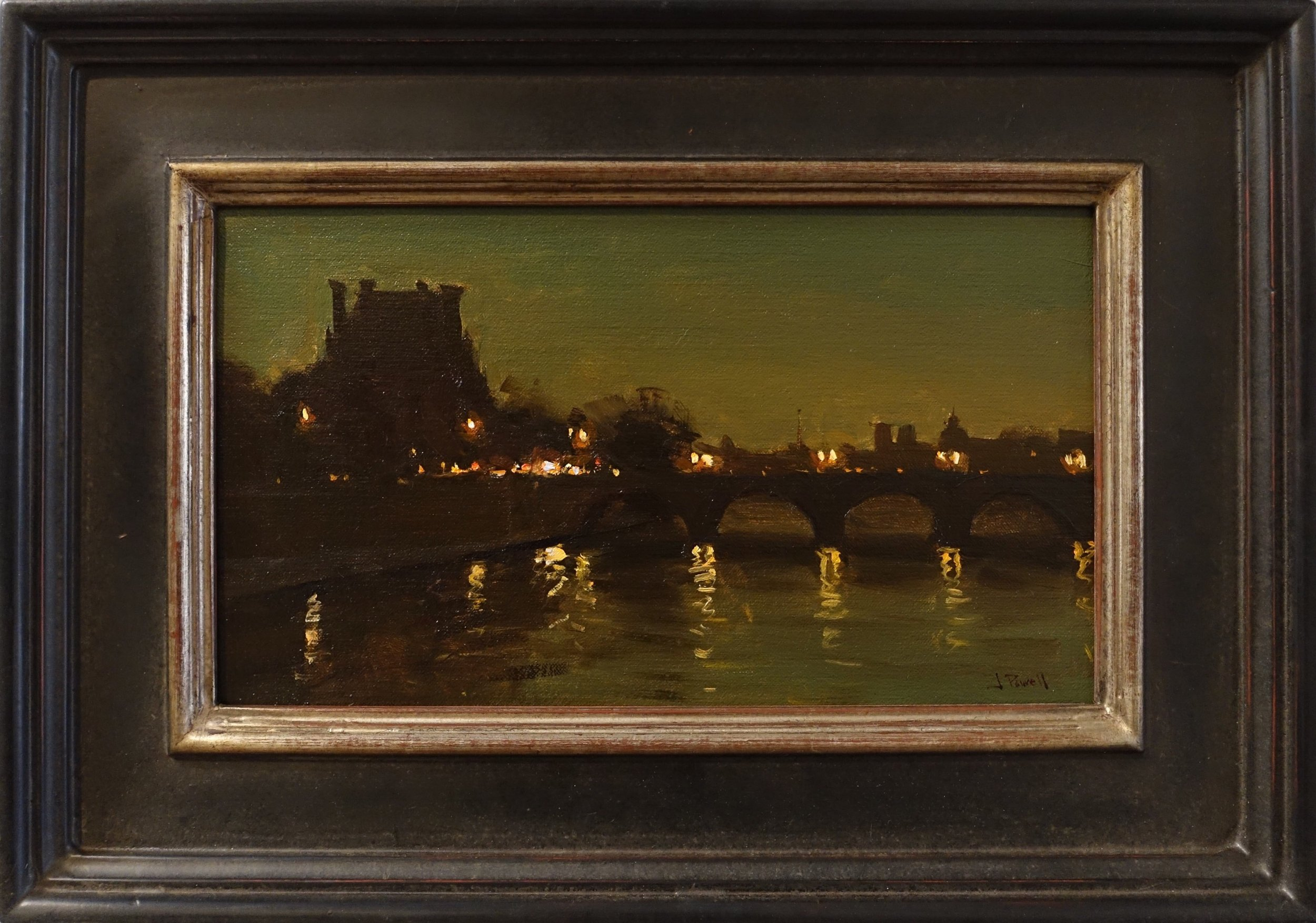 Paris 8x14 oil linen panel, .jpg