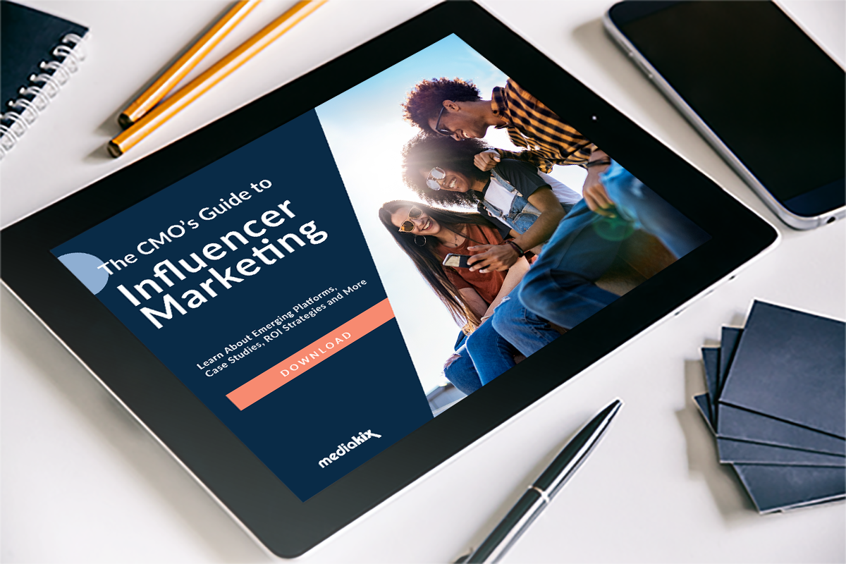 Ebook Design for Influencer Marketing Company located in Santa Monica, CA