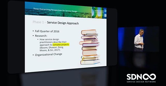 """#throwback to SDGC18 in Dublin where my team's research on organizational change had the opportunity to be a part of @mcmanhaes's great talk on """"Three Overarching Perspectives for Service Design""""  #servicedesign #sdgc18 #sdgc #sdn #research #scadsavannah #scadservicedesign #organizationalchange"""