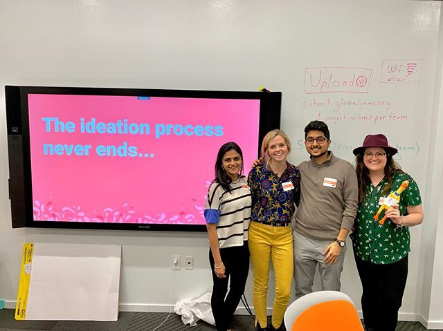 Had a great time this weekend mentoring over 50 jammers in Atlanta. Fortunate to have spent the last 48 hrs with the great group that participated this year. Thanks @servdesatlanta for organizing this and inviting us to be a part of it. Looking forward to GSJ 2020.  #gsj2019 #servicejam #atlantaservicejam #servicedesign #atlanta