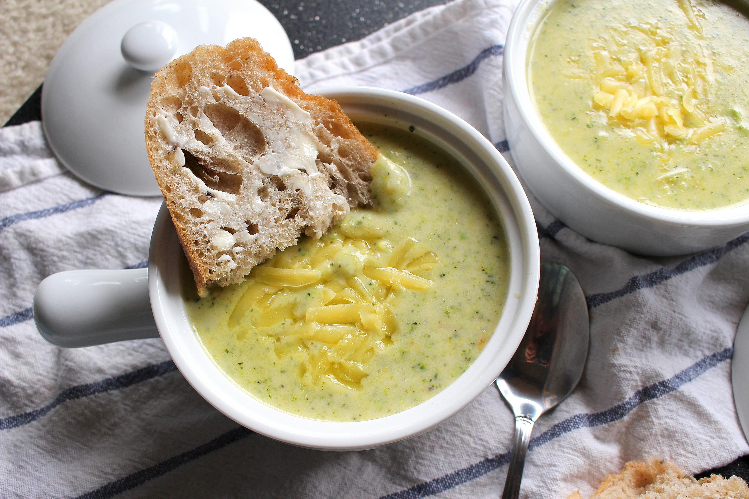 broccoli cheddar soup-2