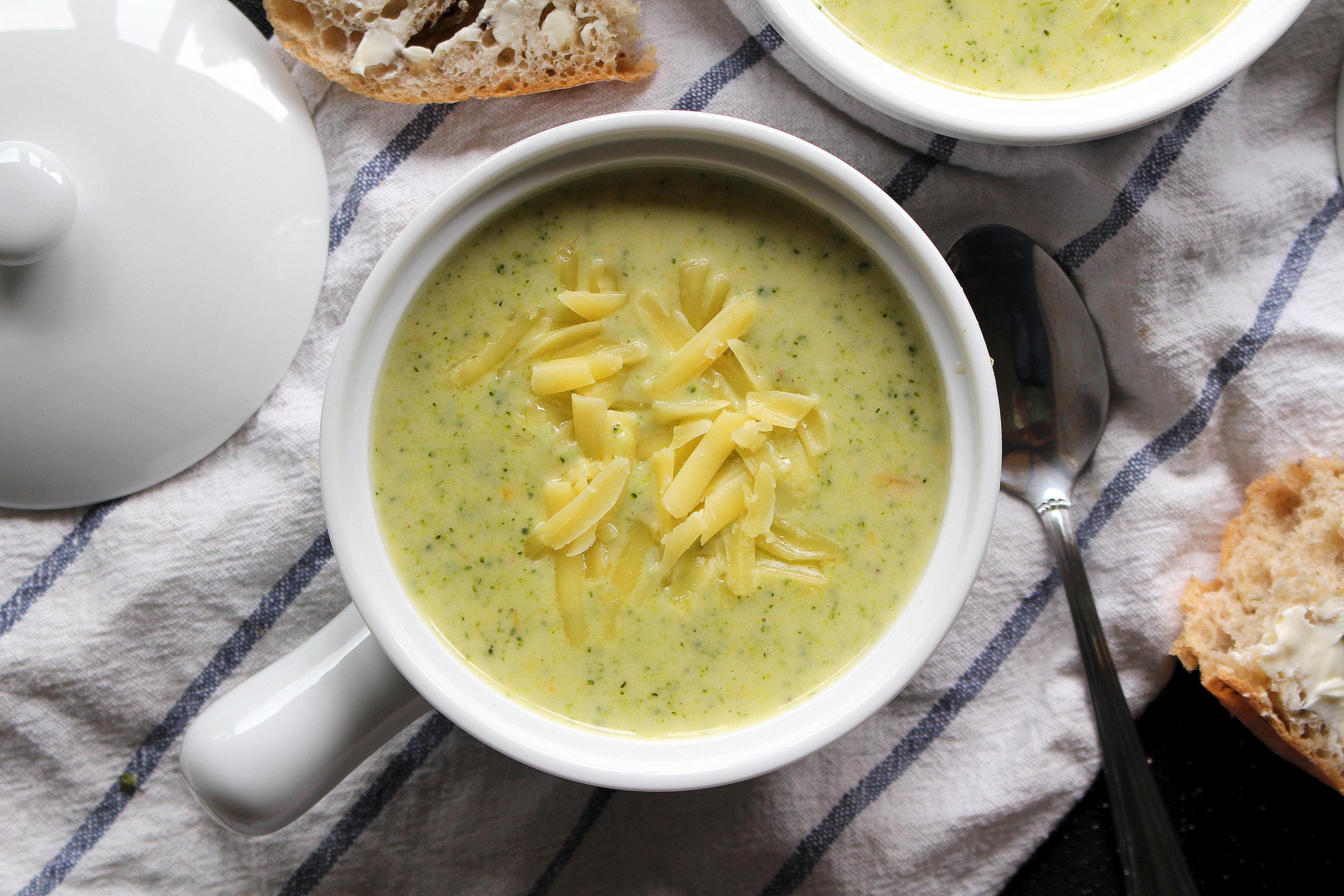 broccoli cheddar soup-4