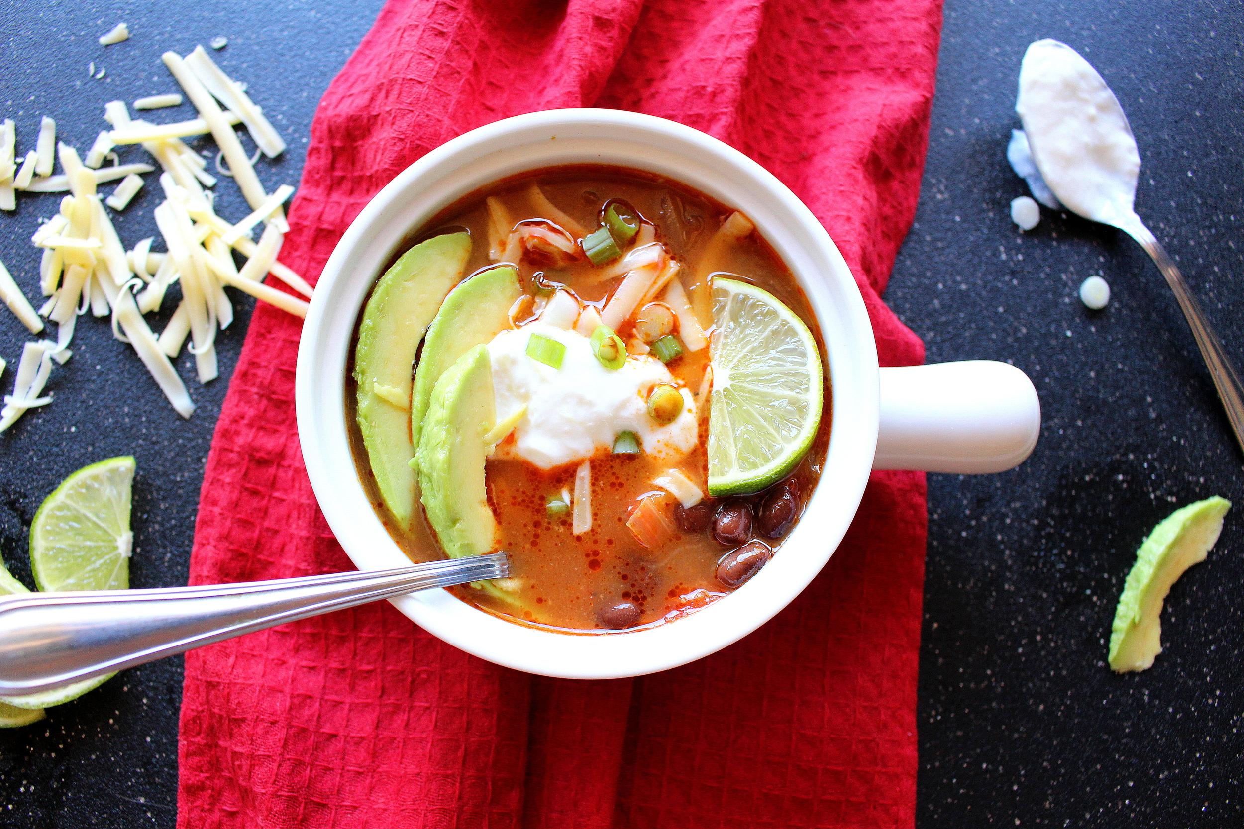 chicken tortilla soup-7