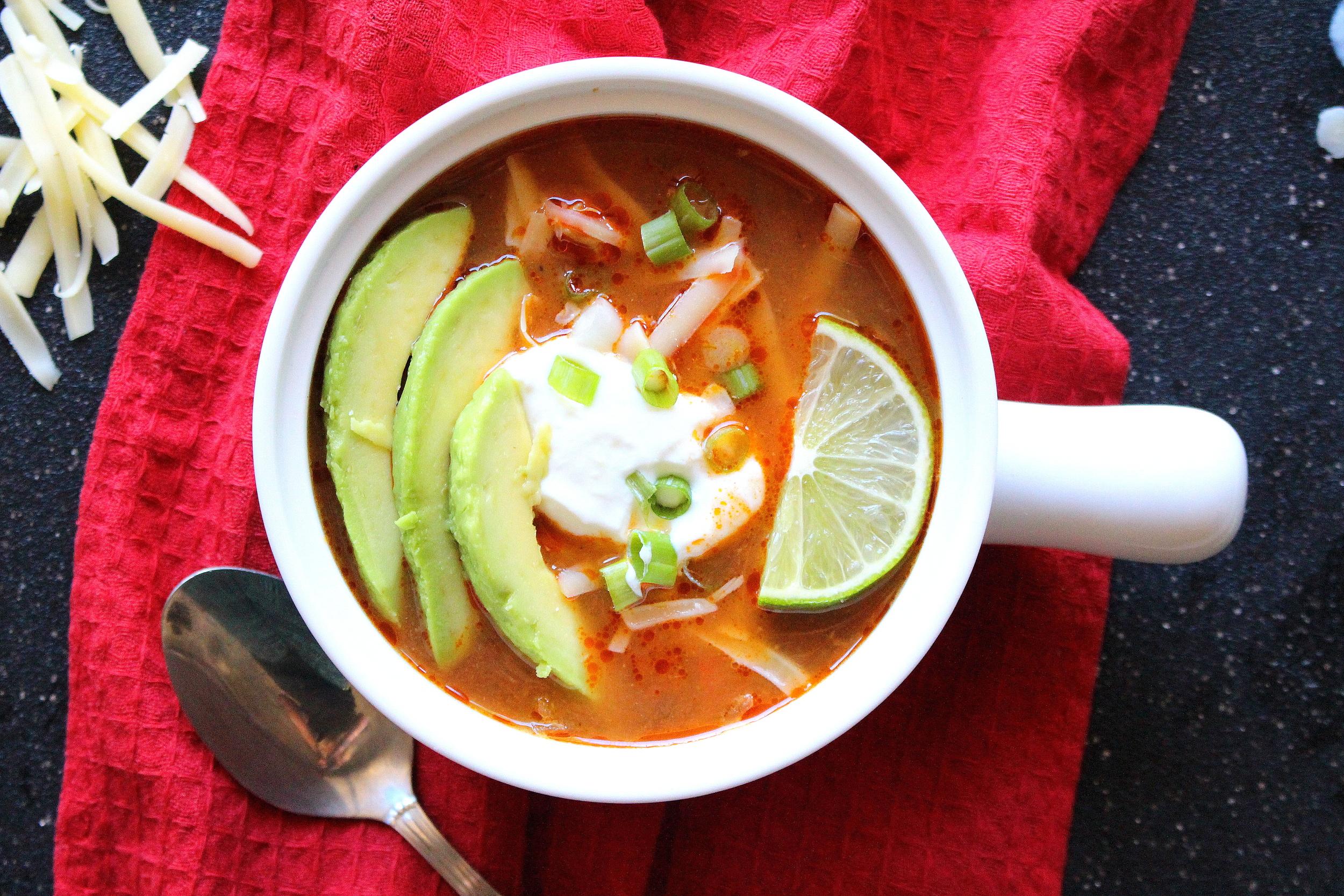 chicken tortilla soup-9