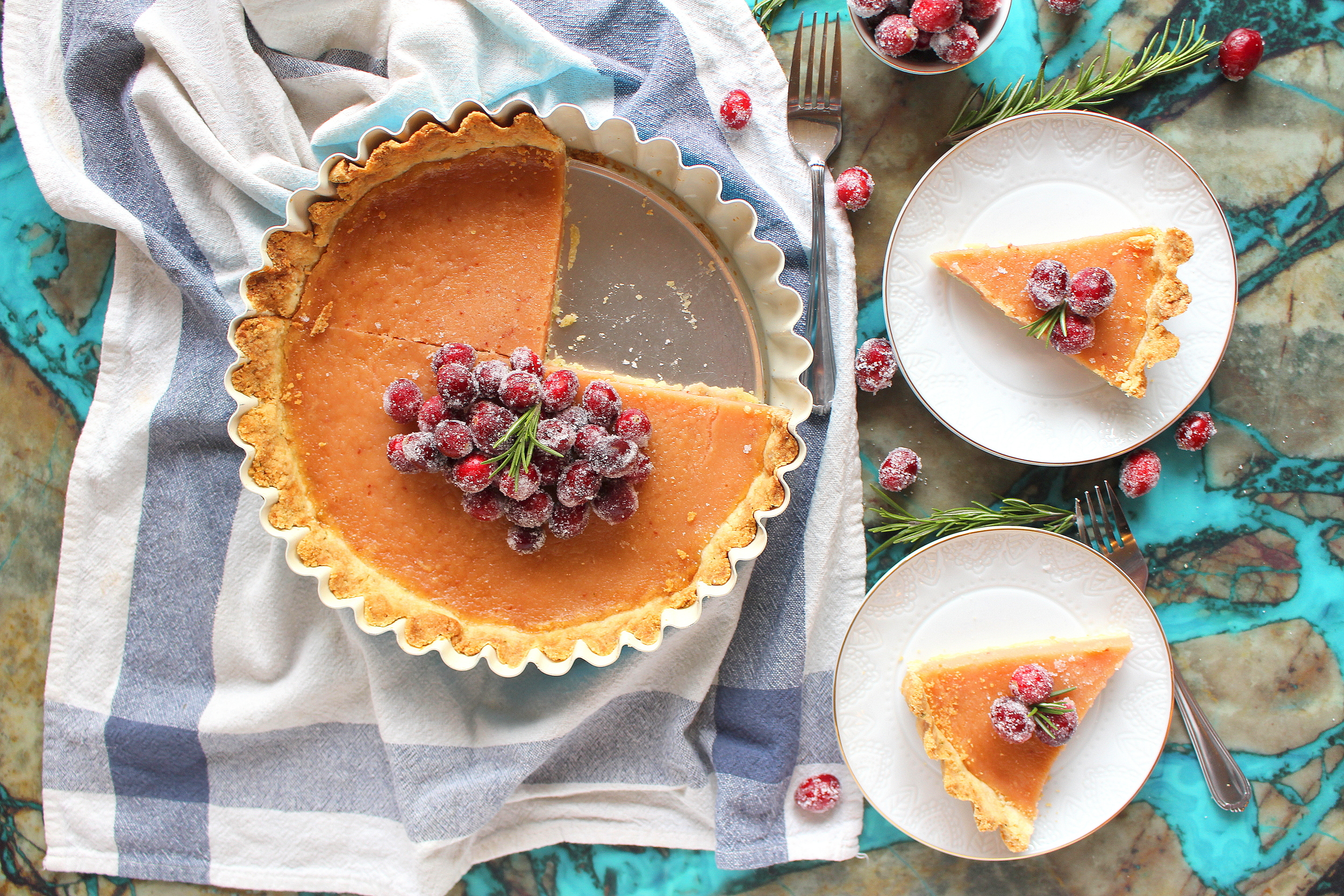 cranberry curd tart-9