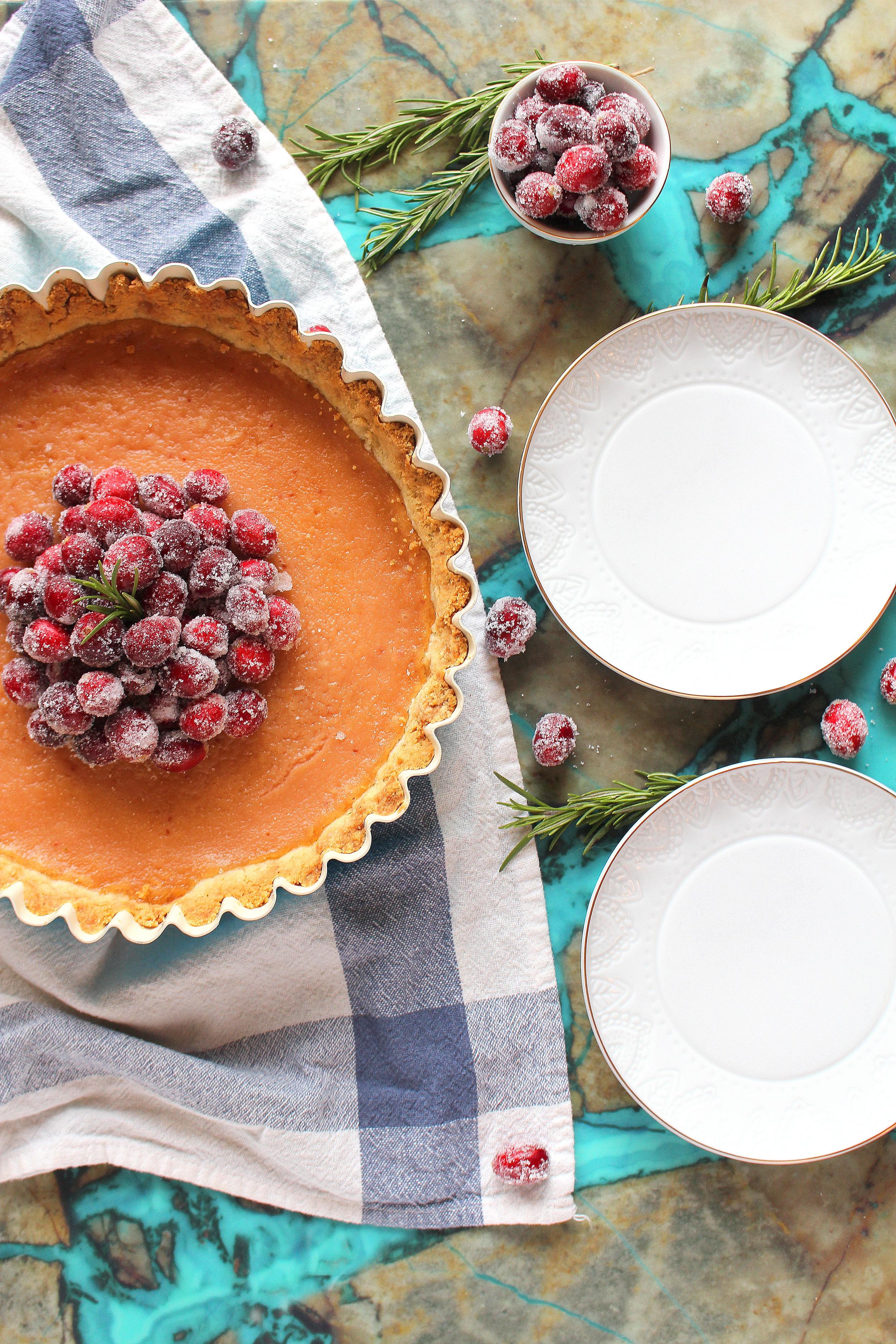 cranberry curd tart-4