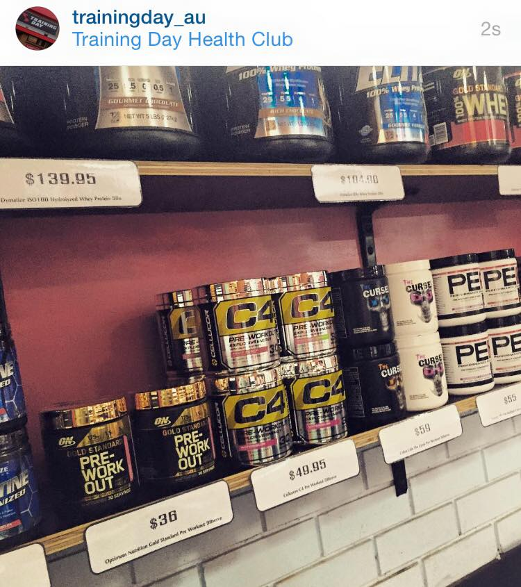 Pre workout junkies,get excited! The brand new C4 has just arrived, let's see if the best selling pre workout has gotten better! TD now have all your training supp needs, prices are good too!  #TDfitfam  @trainingday_au