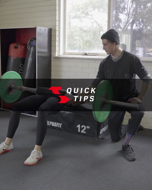 Here is a short Quick Tips Video on the Hip Thrust. 1. To correctly activate the glutes 2. A couple of common errors . For the full YouTube series, head to @trainingdaygym channel and checkout the latest post for a more in-depth explanation on Glute Activation by using the Hip Thrust exercise. . Thanks to @coach.luke and @coach.karla once again for the tip and demonstration. 🙏🏻
