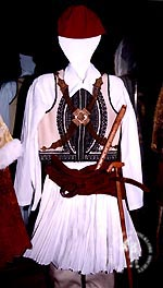 Central Greece & the Peloponnese: The Town Costume, Foustanela