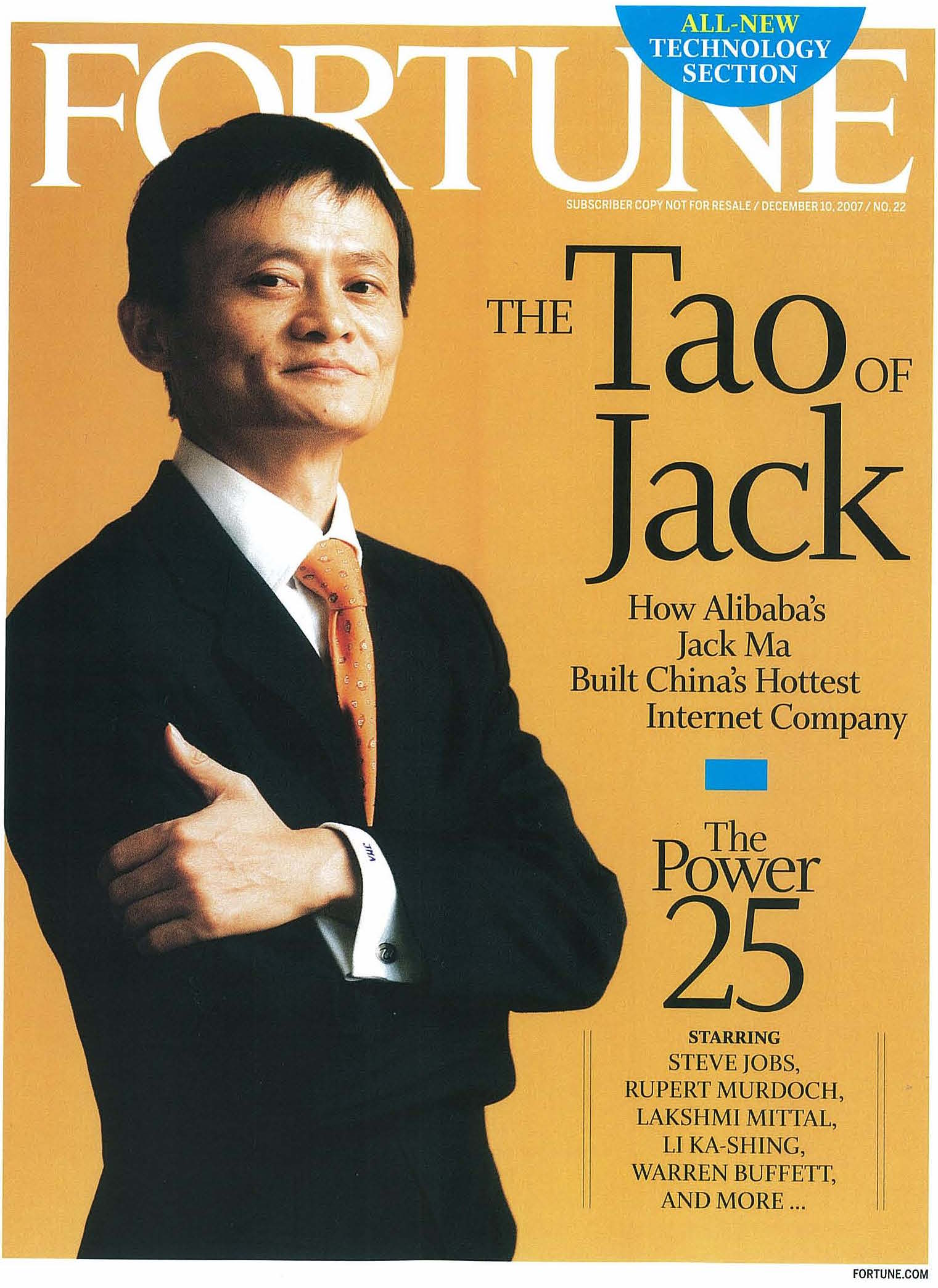 'THE TAO OF JACK'      FORTUNE, December 10, 2007