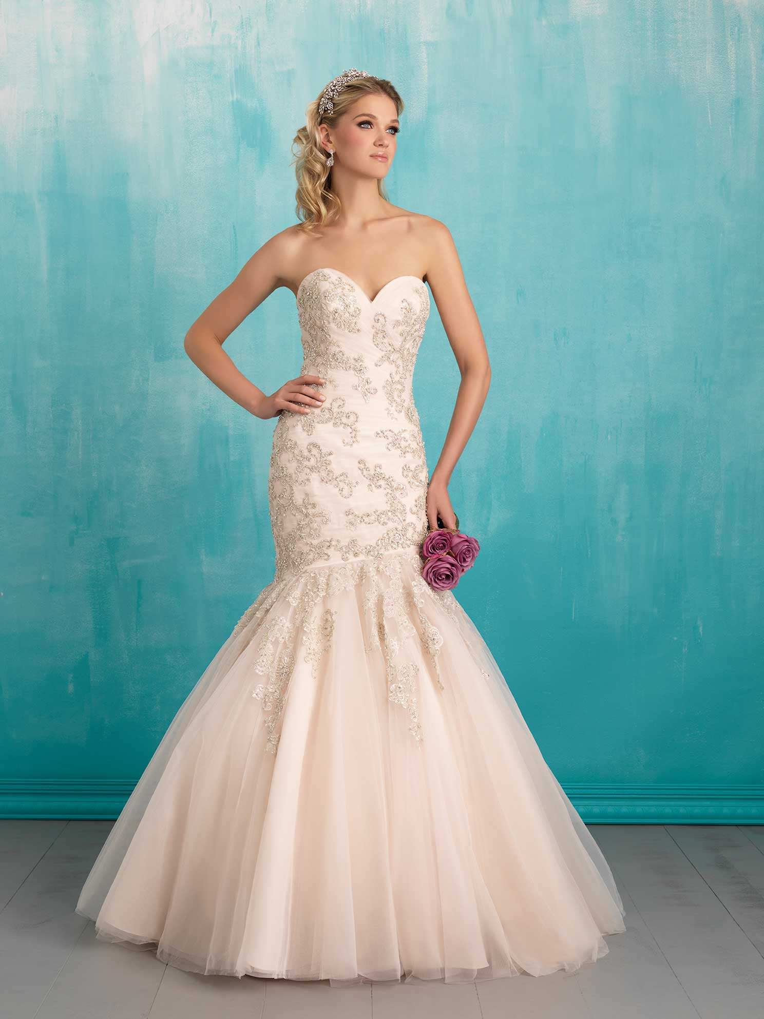 style 9300_ALLURE BRIDALS collection