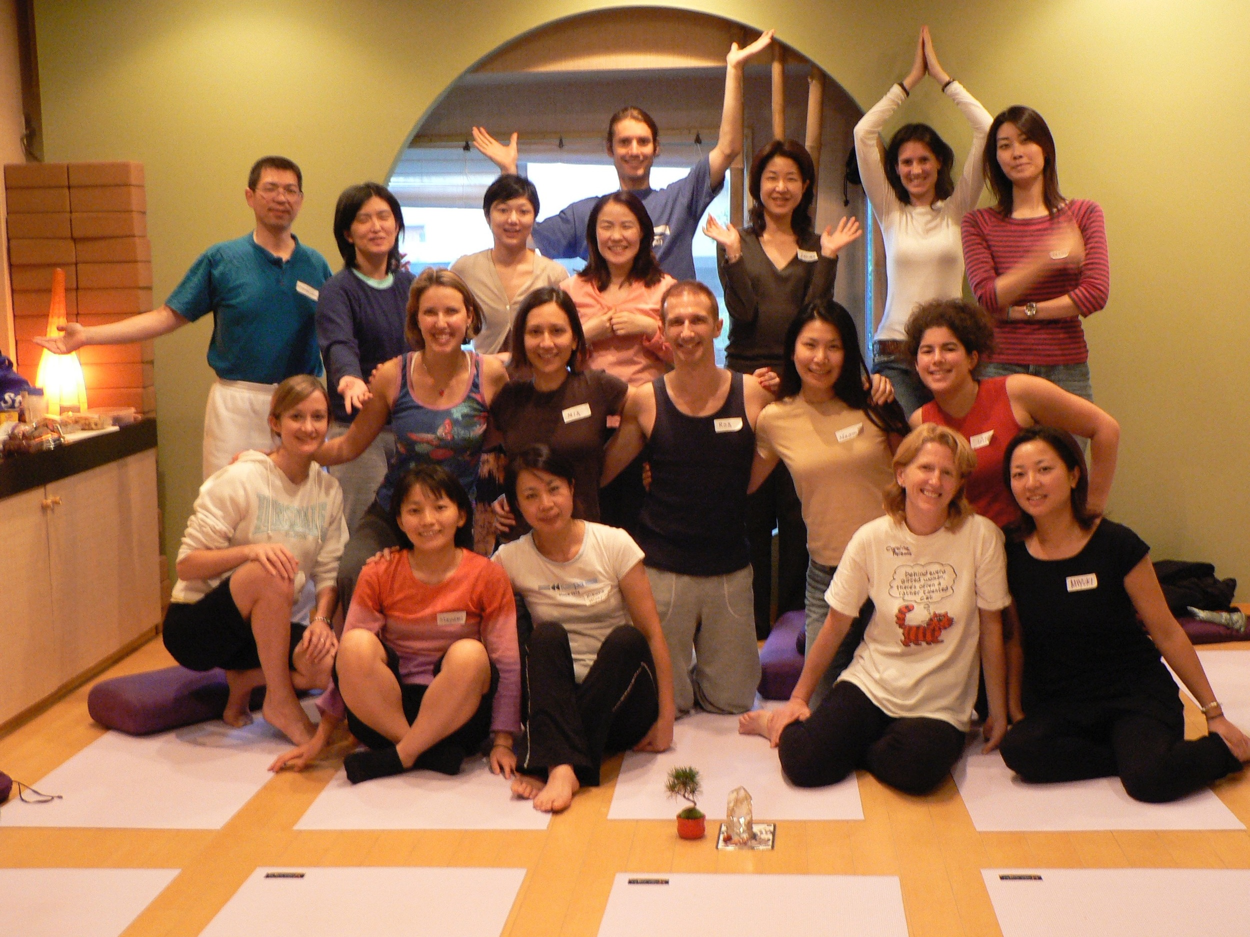 Sun & Moon Teacher Training, Tokyo, Japan
