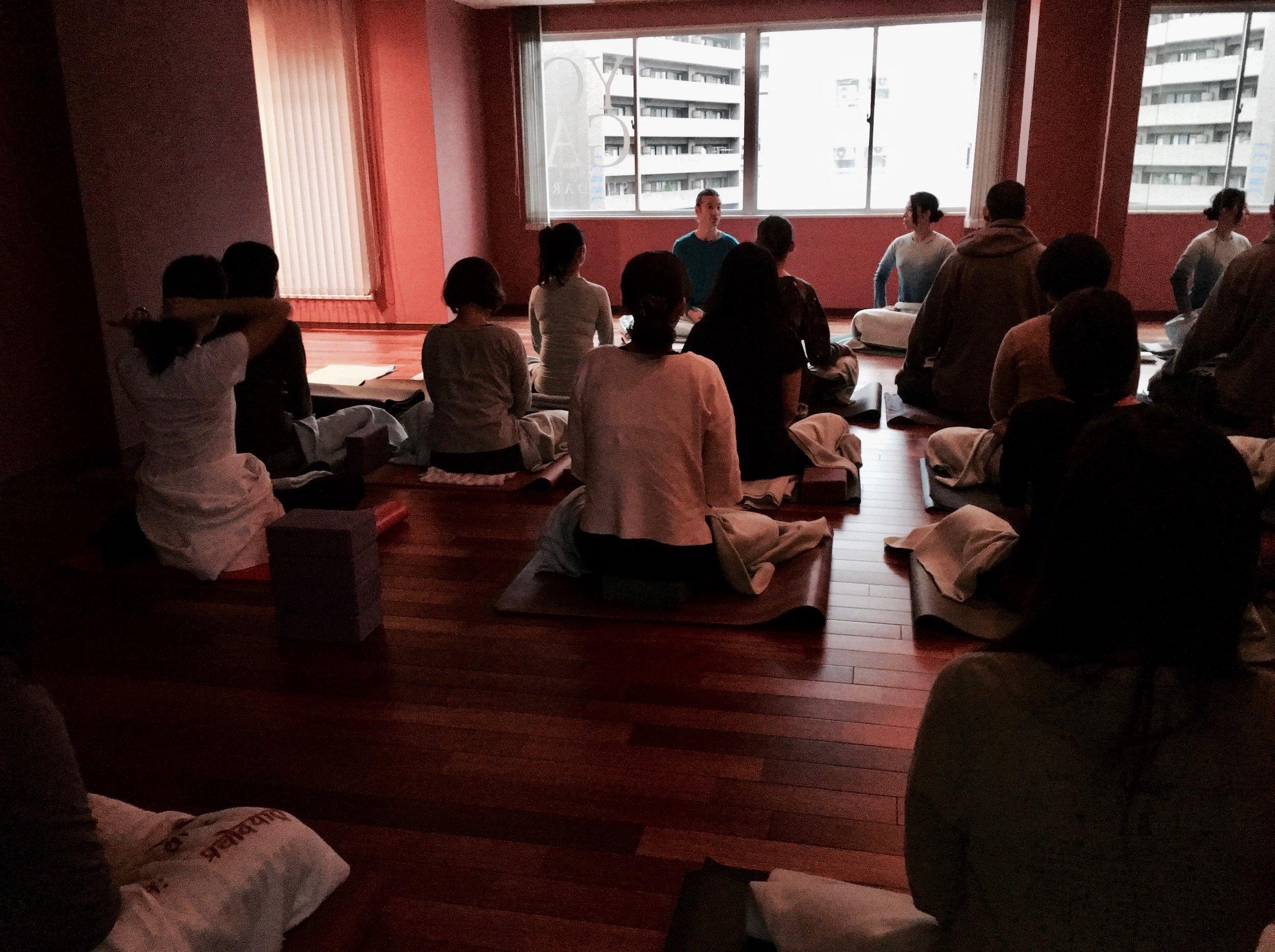 Pranayama & Meditation workshop, Kobe, Japan