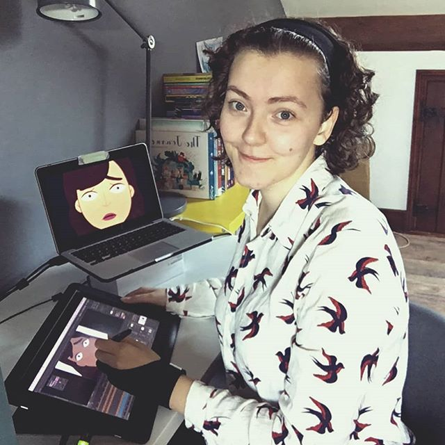 Meet the team working on @passage2019 @kdsketch: Animation Color & Production Design.  We asked her: What is the one most important thing that you have learned from your personal journey so far? . . . #passage #team #meettheteam #color #design #behindthescenes #journey #animation #short #immigration #girlpower💪 #dreams #noteasy #running #characterdesign #illustration #illustree #adobe #2d #motionographer #designspiration #supernovadesign #instagram #2019