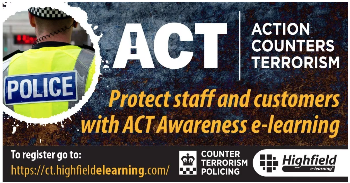 ACT Awareness - This e-learning is a FREE course for businesses.