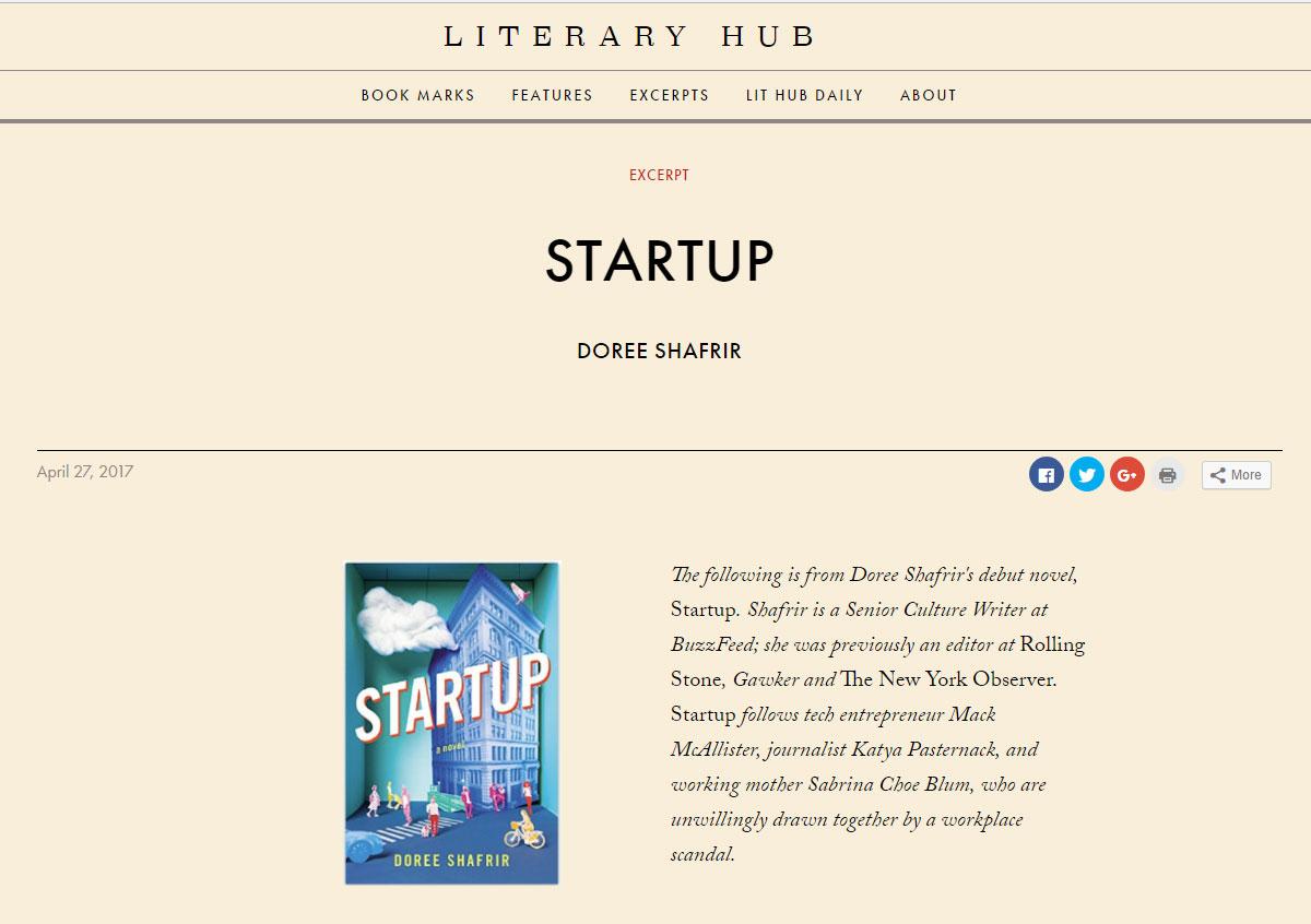 - Literary Hub , April 2017