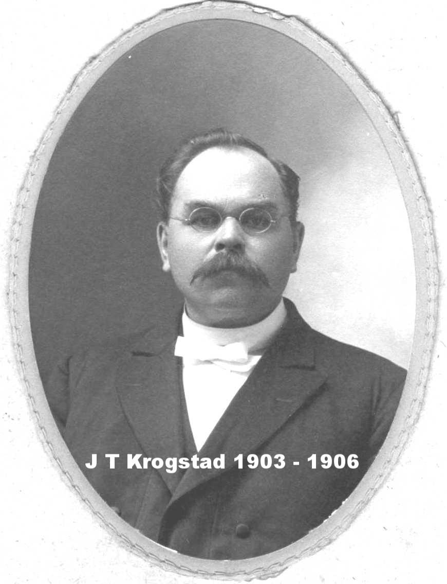 Pastor J T Krogstad