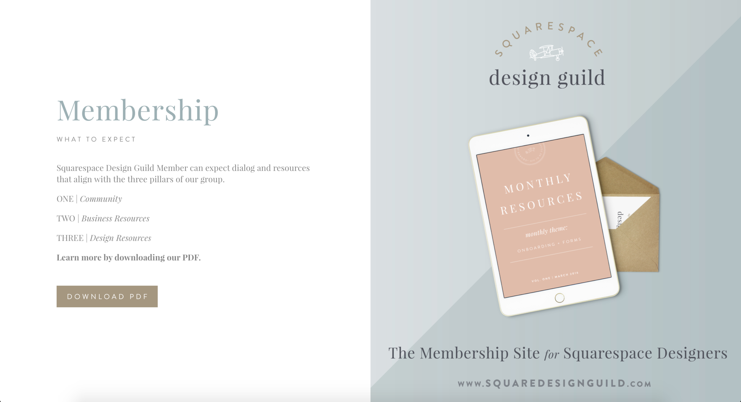Creative Uses for Squarespace   Cover Pages