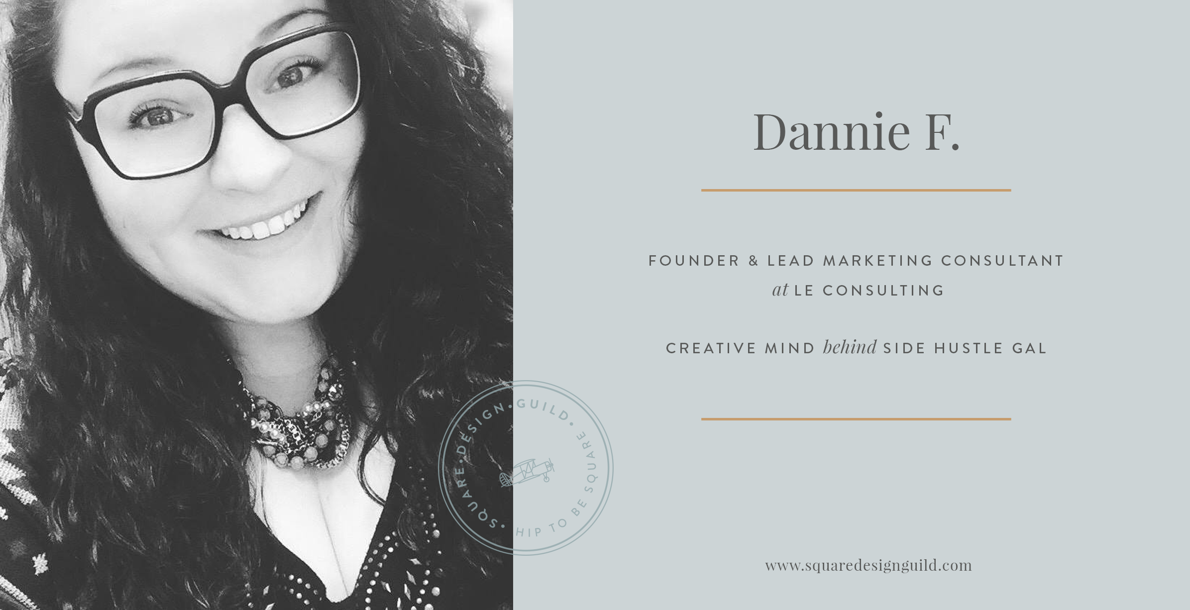 Squarespace Design Guild | Member Profile | Designer Interview | Dannie F from LE Consulting