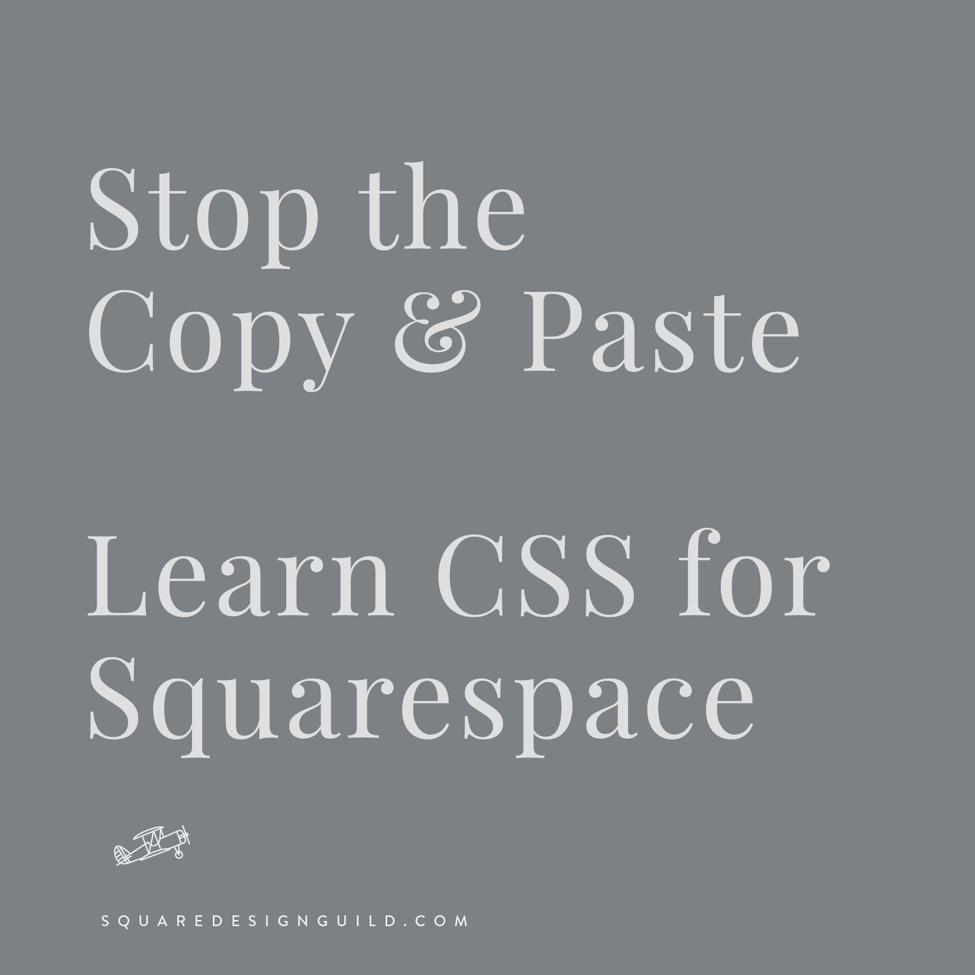 Learn CSS for Squarespace | Coding for Squarespace Course on Teachable