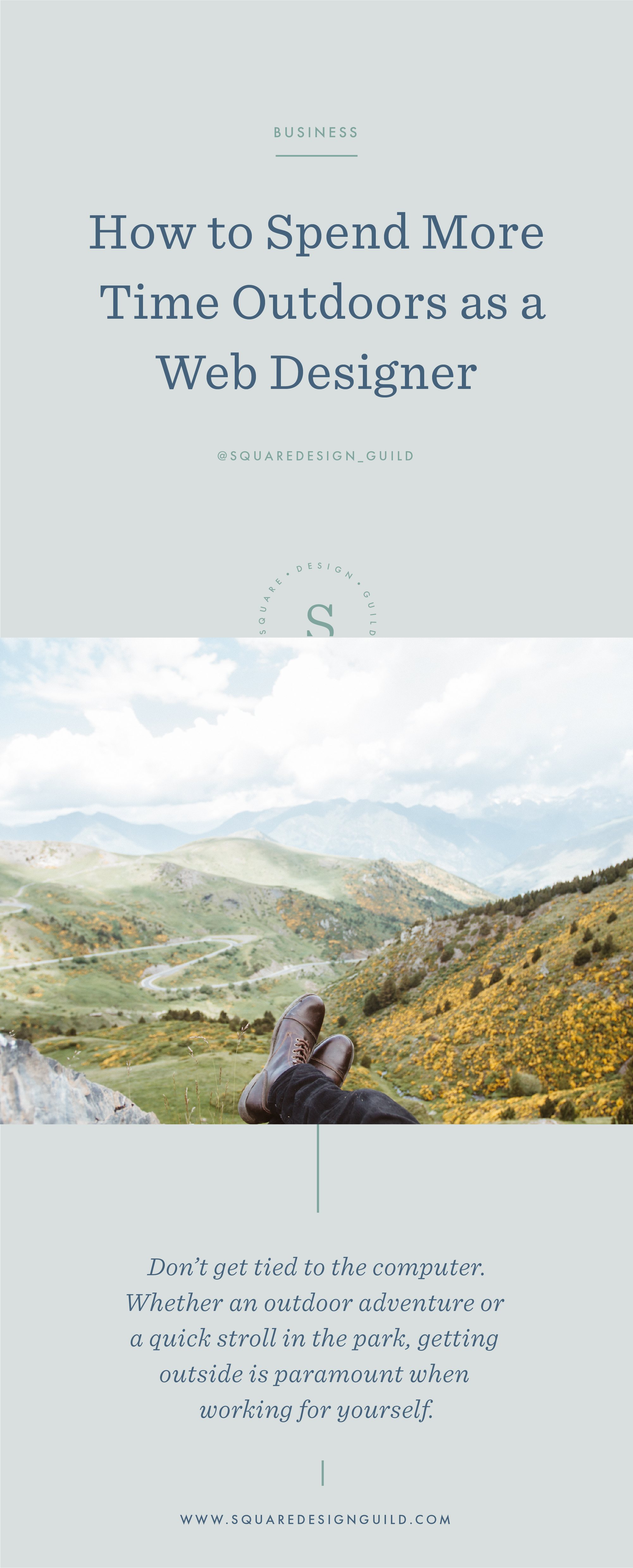 Square Design Guild   How to Spend More Time Outdoors as a Web Designer