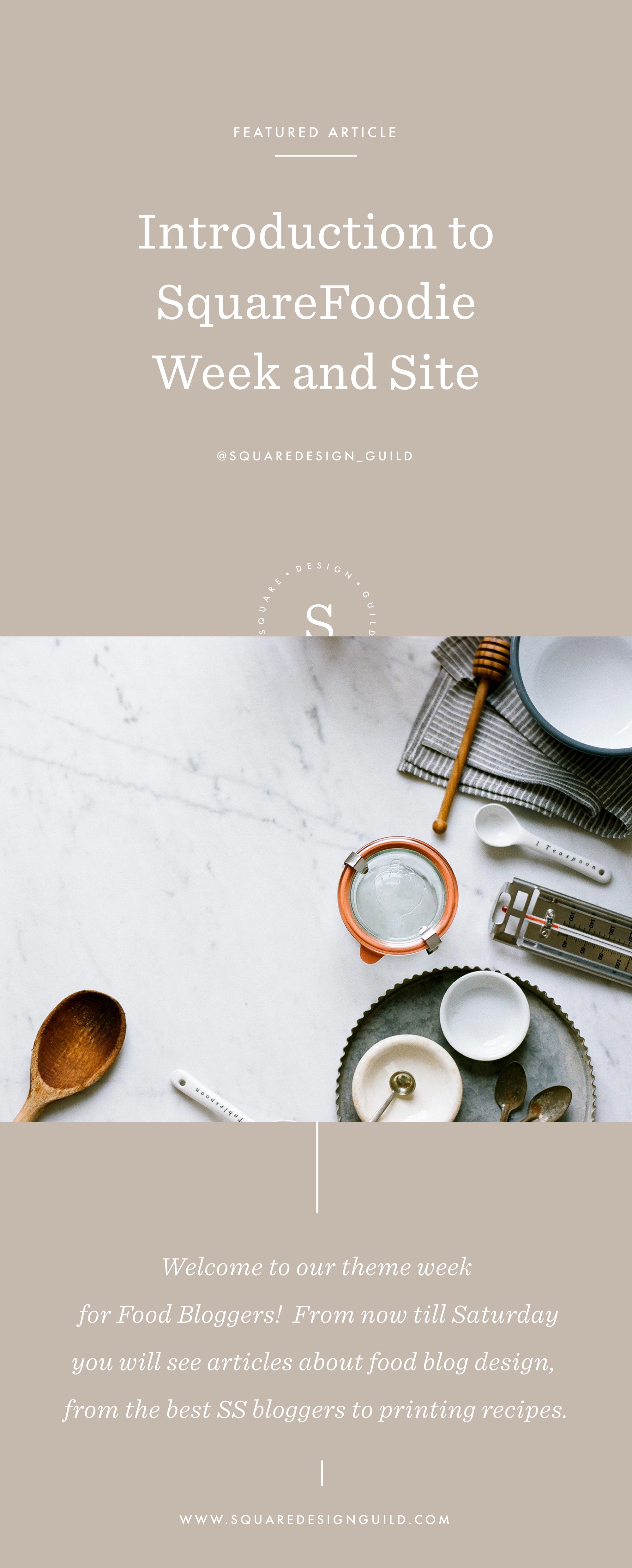 Food Blogging on Squarespace