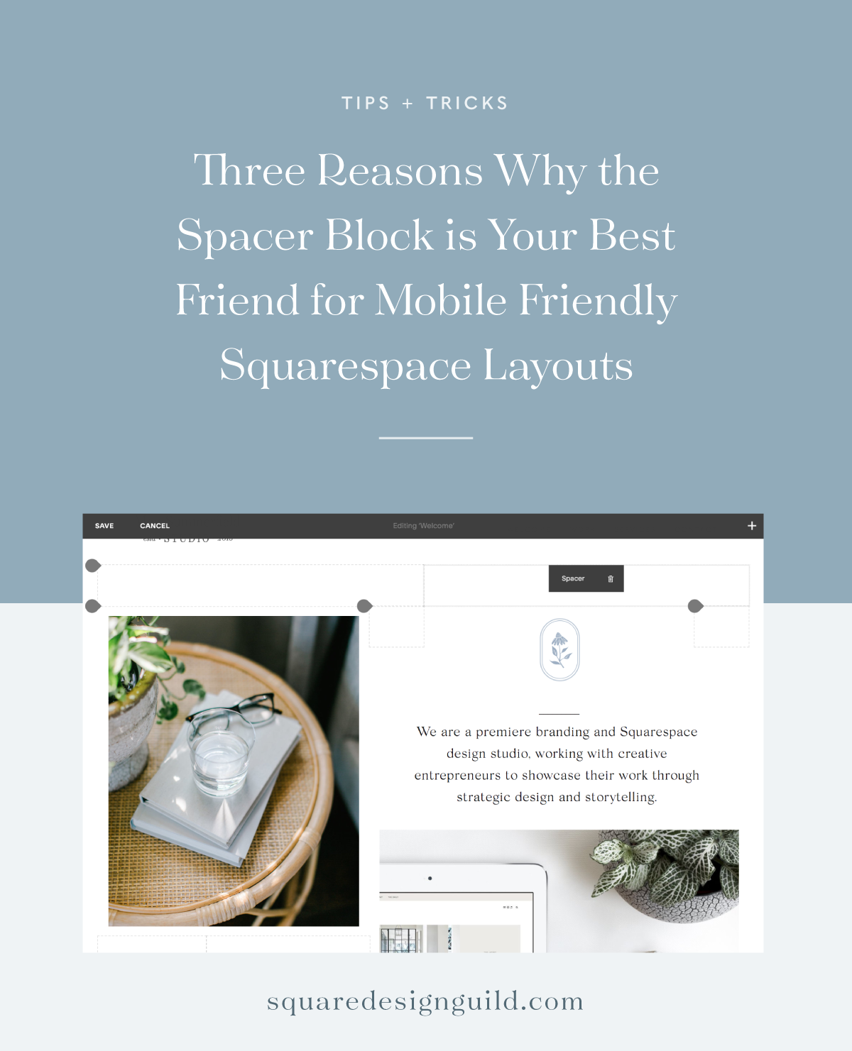 SpacerBlock for Mobile Friendly Squarespace Layouts.png
