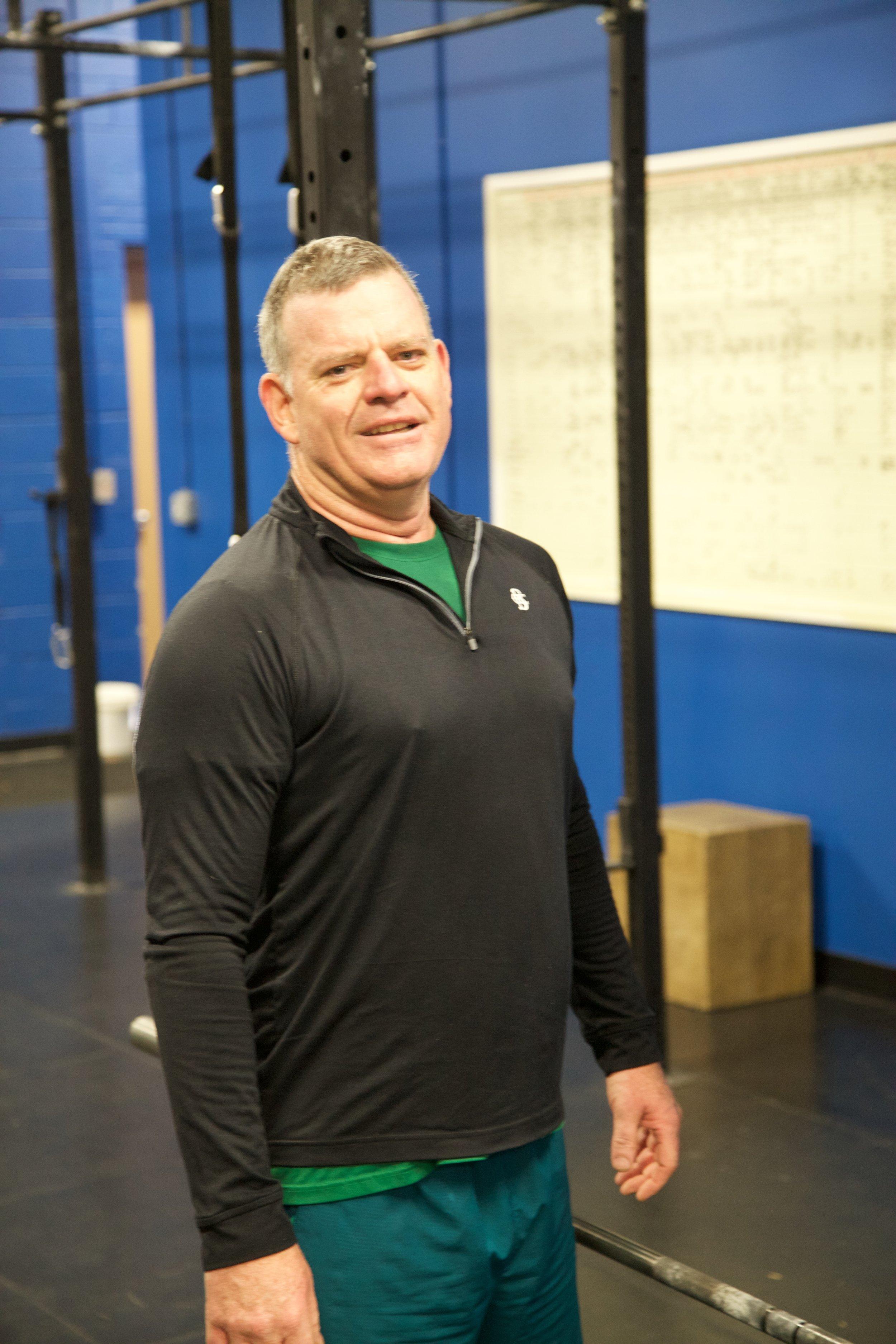 Sean Shallis at CrossFit Annex