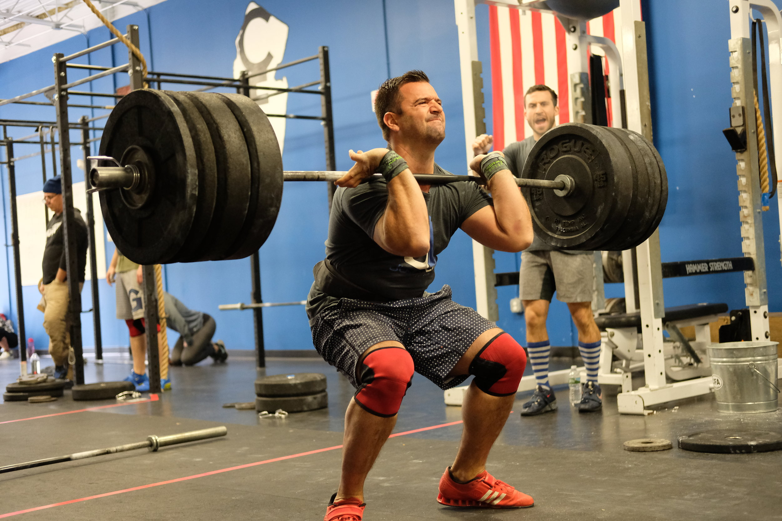 Battle of the Boroughs 2017 WOD
