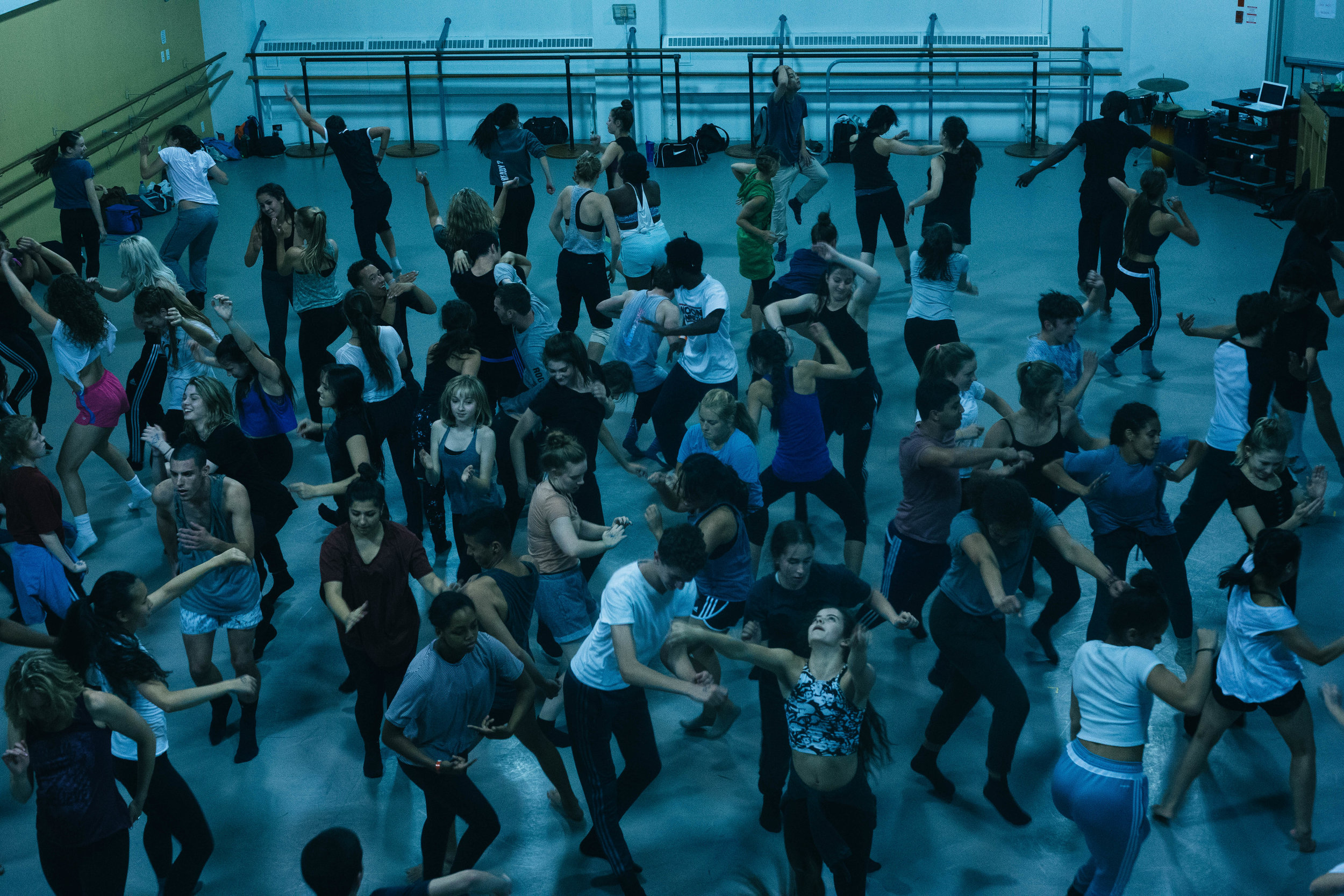 An Improv Jam session hosted by TOES FOR DANCE at Canadian Contemporary Dance Theatre.