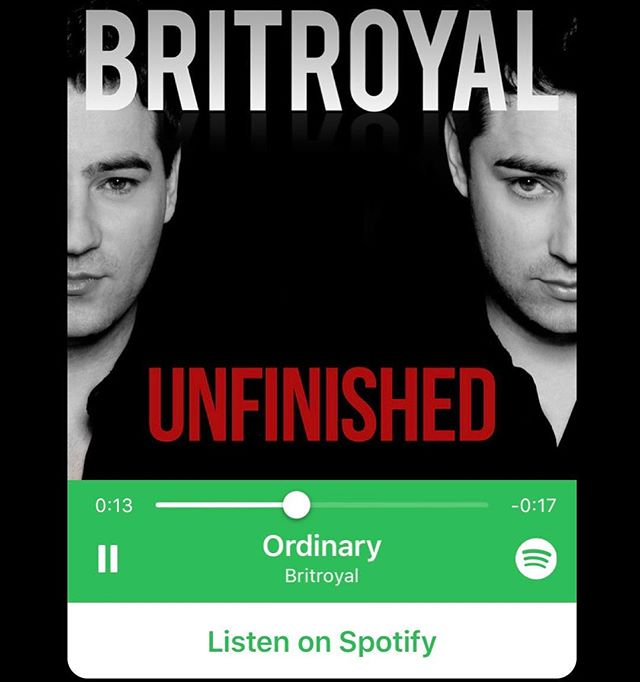 Saturday is the perfect day to listen to some BritRoyal! 😜🎧 @spotify