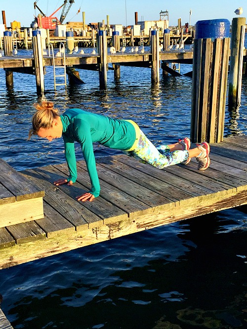Plank with Lowered Knees