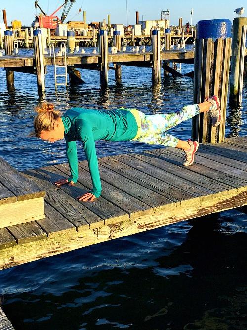 Plank with Raised Leg