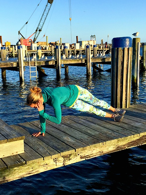 Side Plank with Twist
