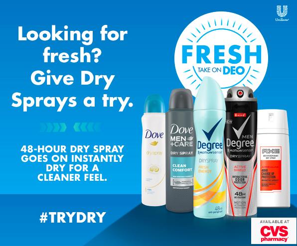 CVS Dry Spray