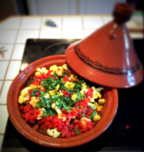 Beef Tagine With Roasted Cauliflower