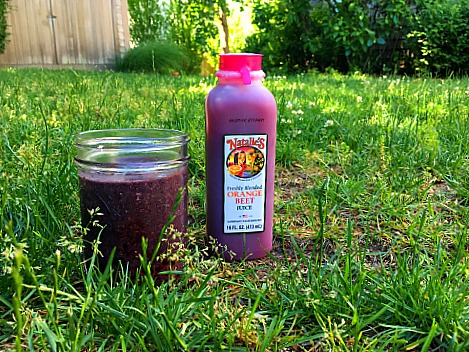 Natalie's Orchid Beet Smoothie